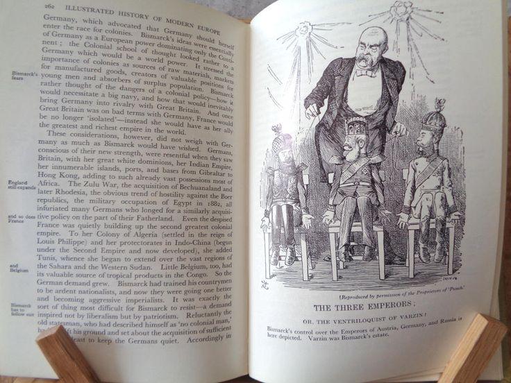 Vintage History book Modern Europe 1789-1945 Denis Richards hardback 1960 illustrated British German French world war Political Social 233 by TrooperslaneBooks on Etsy