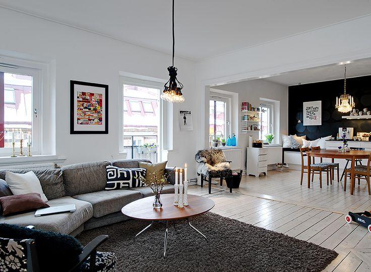 Alvhem Kitchen/Diner/Living Space...Vardagsrum | Alvhem Mäkleri och Interiör