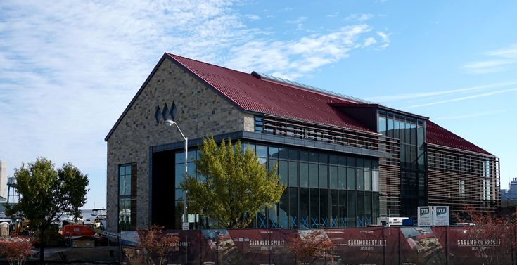 Drinking and Lightning Don't Mix.  Alcohol is flammable. Whiskey and other spirits are even explosive when in gaseous form. The new Sagamore Spirit Distillery in Baltimore had to follow the stringent guidelines in NFPA 780 for lightning protection of facilities with explosion hazards.