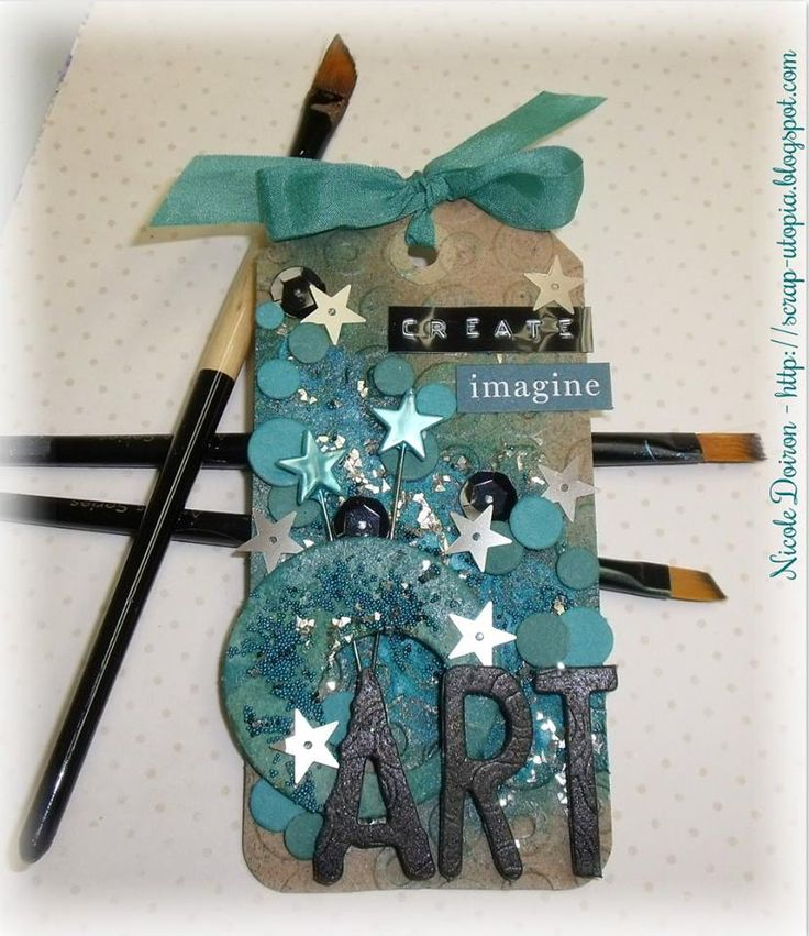 Project created by More Than Words DT member Nicole Doiron for the June Mini Challenge using the word ART. More details at http://morethanwordschallenge.blogspot.ca/2016/06/june-mini-challenge.html #morethanwords #morethanwordschallenges #mtw
