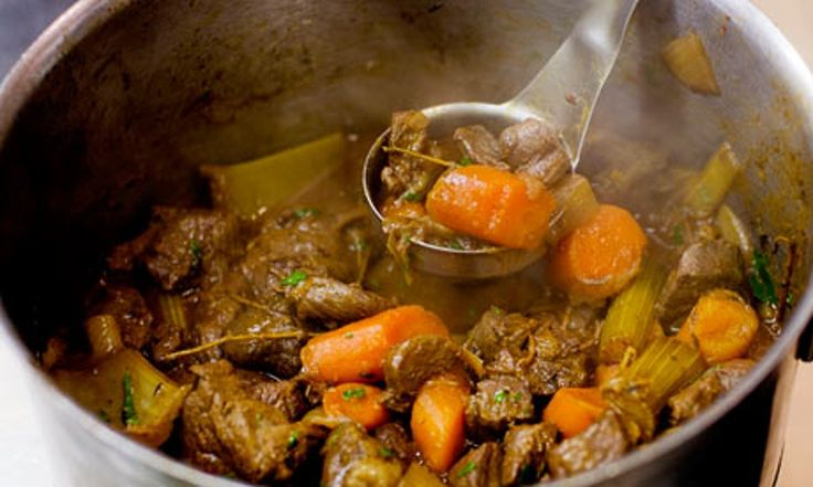 Angela Hartnett's venison and carrot stew recipe | Life and style | The Guardian