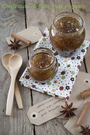 confettura di fichi rum cannella e anice stellato