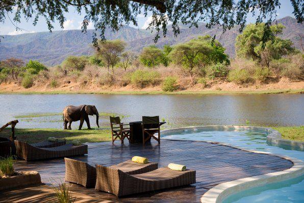 Chongwe River House - Game Viewing Lower Zambezi #Zambia