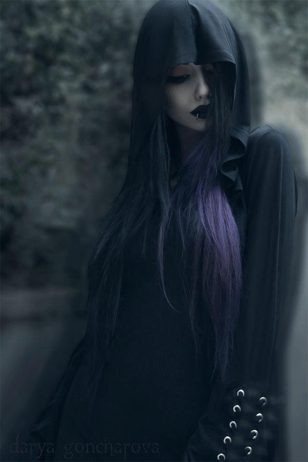 "gothicandamazing: "" Model/ Photo/ MUA: Darya Goncharova Outfit: Killstar Welcome to Gothic and Amazing |www.gothicandamazing.com """