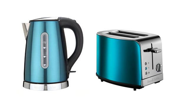 106 best teal home things i need images on pinterest for - Teal kitchen appliances ...