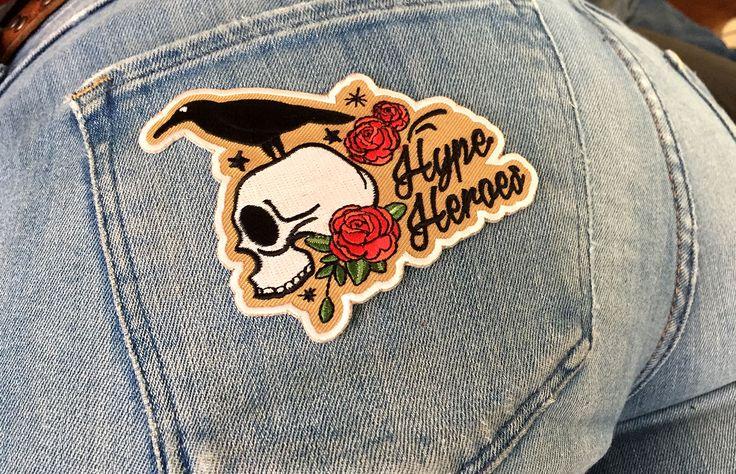 Hype Heroes Badge Ontwerp