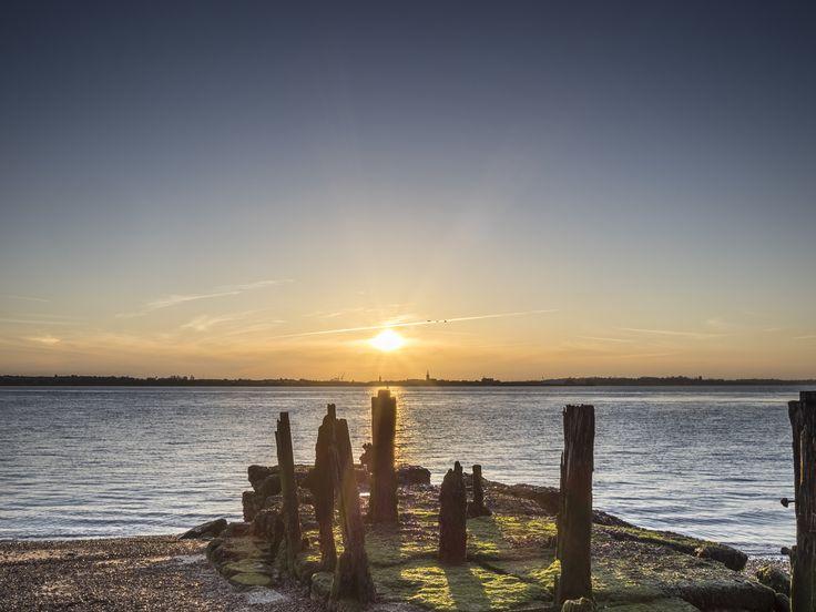 Sunset Groynes by Nigel Lomas on 500px