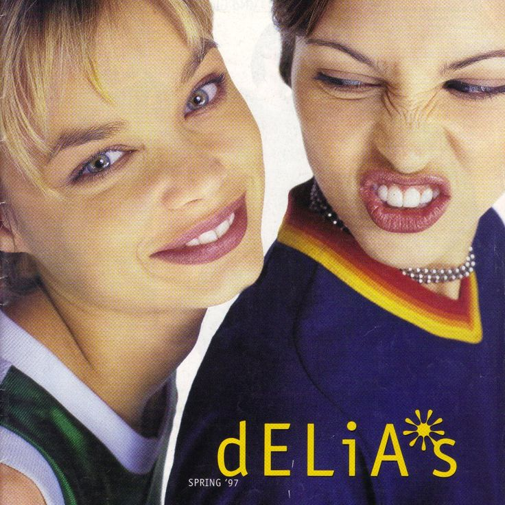 This dELiA*s Catalog Has eVerYthiNg You Wanted In the '90s