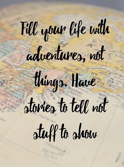 #Travel makes one modest. You see what a tiny place you occupy in the #World.
