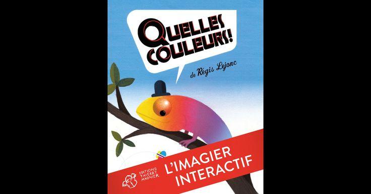 Lisez un extrait gratuit ou achetez Quelles couleurs ! l'imagier interactif de Régis Lejonc. Vous pouvez lire ce livre avec iBooks sur votre iPhone, iPad, iPod touch ou Mac.
