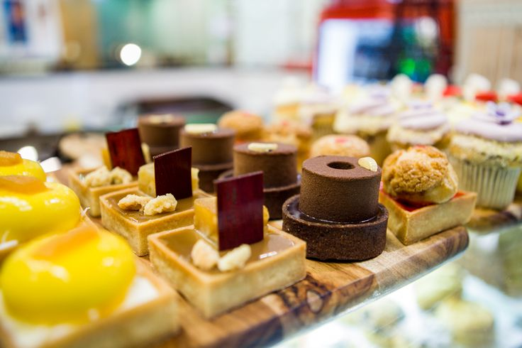Petits fours from Essence Café