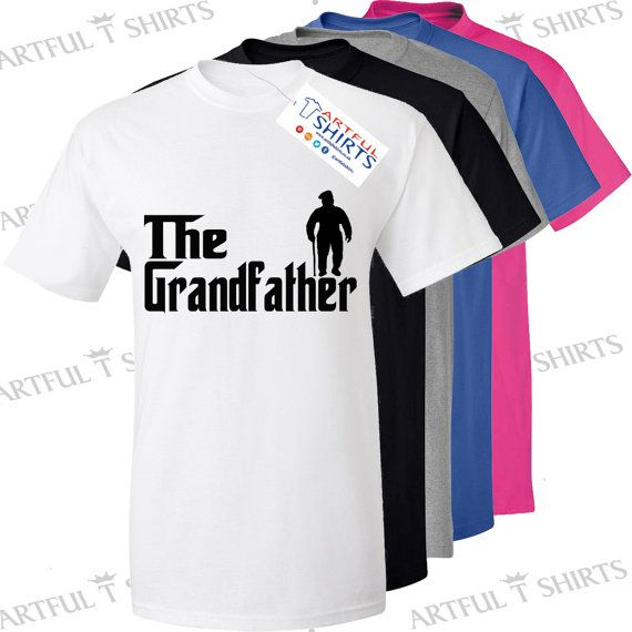 The Grandfather Fishing T-Shirt Brand New Men's by ArtfulTShirts