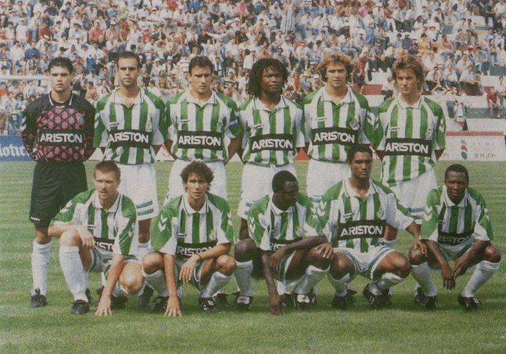Vitoria Setubal of Portugal team group in 1993.