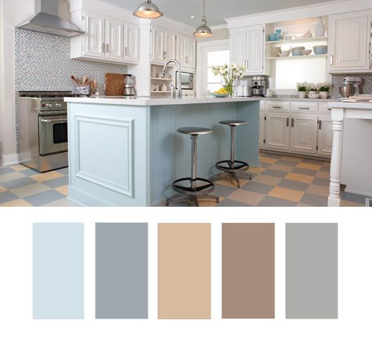 Best Kitchen Colour Inspiration Images On Pinterest - Kitchen colour ideas