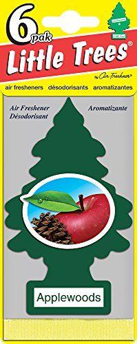Little Trees Applewoods Air Freshener, (Pack of 24)
