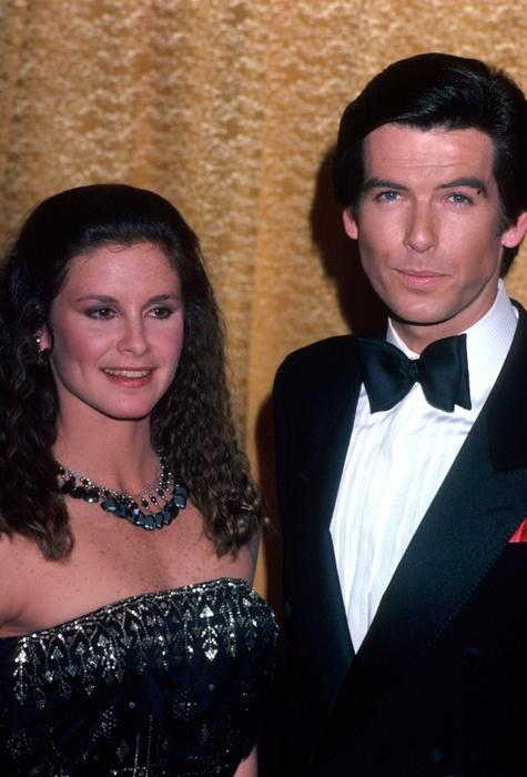 Stephanie Zimbalist and Pierce Brosnan in their Remington Steele days.