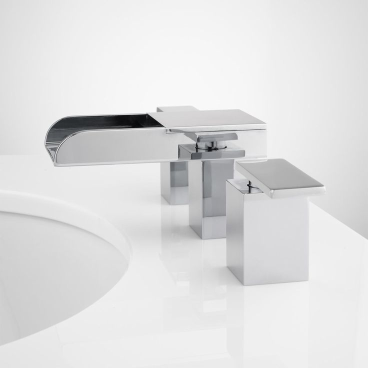 Kohler Waterfall Faucet : alterna widespread lavatory waterfall faucet kohler waterfall faucet ...