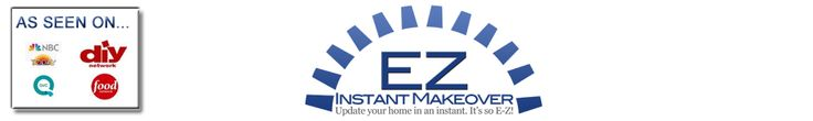 Cheap makeover for kitchen counters & looks good  Faux Stainless Steel Film - Home of Ez Instant Makeover Products - EZ Faux Granite