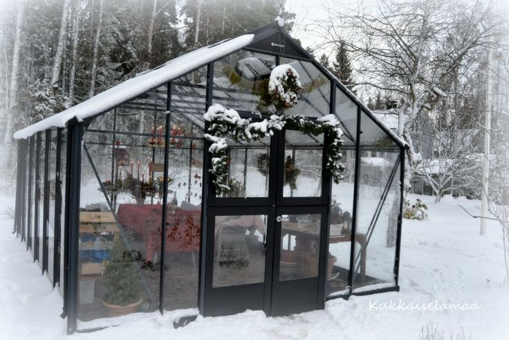 Our greenhouse in winter time...