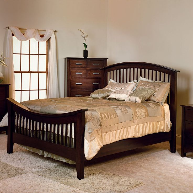 The Cambrai Mission Bedroom Set Comes With 3 Types Of Footboards. Troyer  Ridge Is An Amish Furniture Manufacturer In The Heart Of Ohio Country That  ...