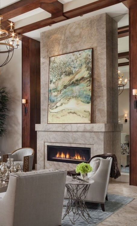 Contemporary Fireplaces For Luxury Living Rooms: 1160 Best Images About LIVING ROOMS On Pinterest