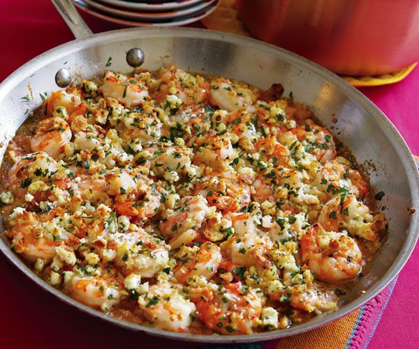 Baked Shrimp with Fennel & Feta****used 1/2 tsp salt, everything the ...