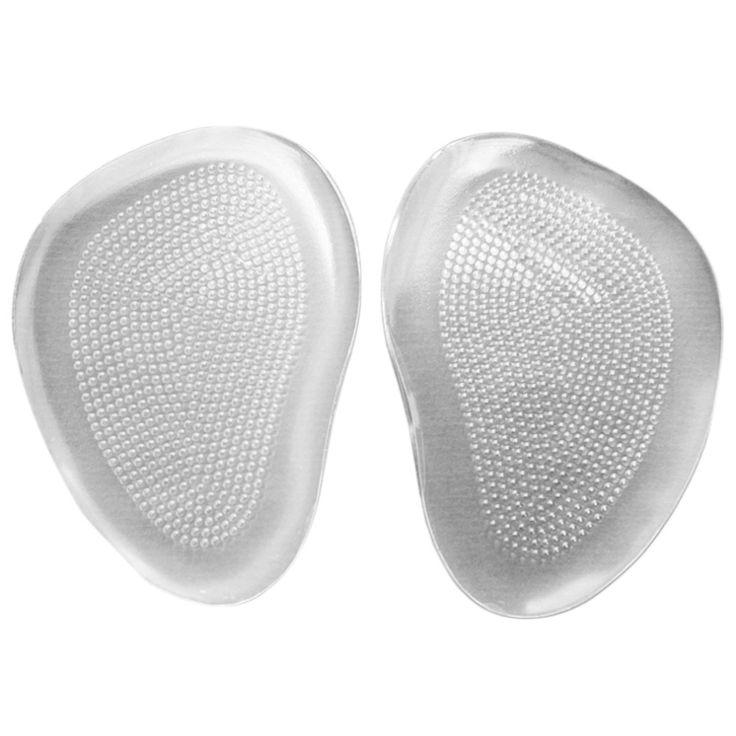Silicone Gel Bóng Chân Cushion Lót Cổ Chân Chèn Pad Trong Suốt cho chăm sóc bàn chân Miễn Phí Vận Chuyển