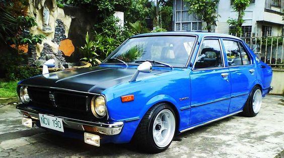 Image Detail for - ... back home! – Old School Toyota Corolla KE30 on 13×8 ATS Classics