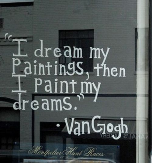 Van Gogh knows what's up.