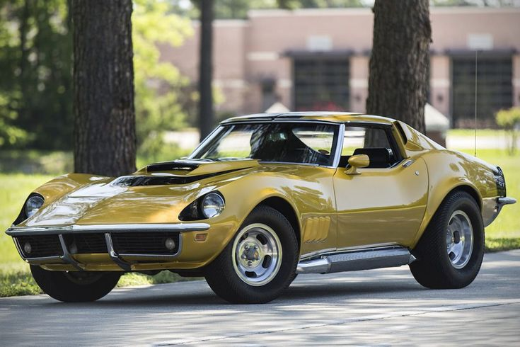 Auction Block: 1969 Baldwin Motion Phase III GT Corvette