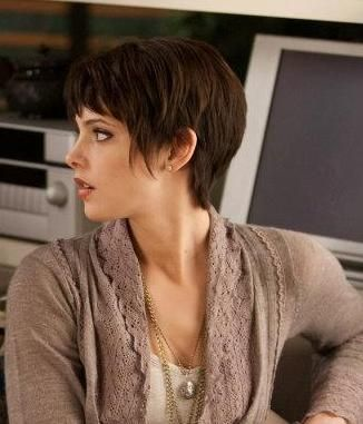 Ok, so my hair isn't this short anymore, but I already have a sweater like that and jewelry to go with it. lol. I'm SO not cutting my hair again though. Ha Ha.