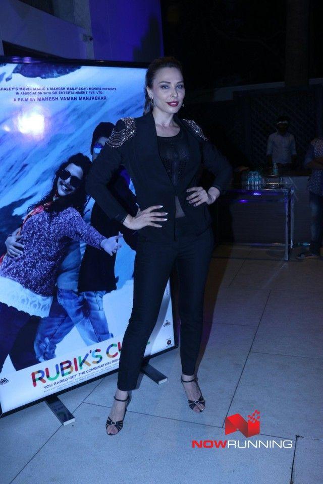 Iulia Vantur grace Mahesh Manjrekar movie music launch