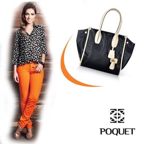 As calças coloridas continuam com tudo nessa estação! Uma #bolsa básica é essencial na hora de combinar todas as peças. Escolha a sua: http://www.portaldabolsa.com.br/produto-536/dia-a-dia/bolsa-de-ombro-feminina-079bg