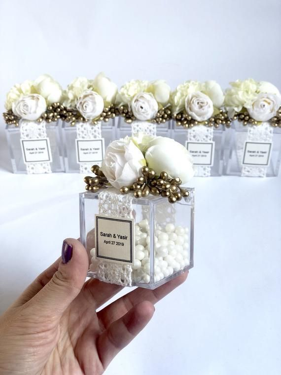 10pcs Wedding Favors Favor Bo For