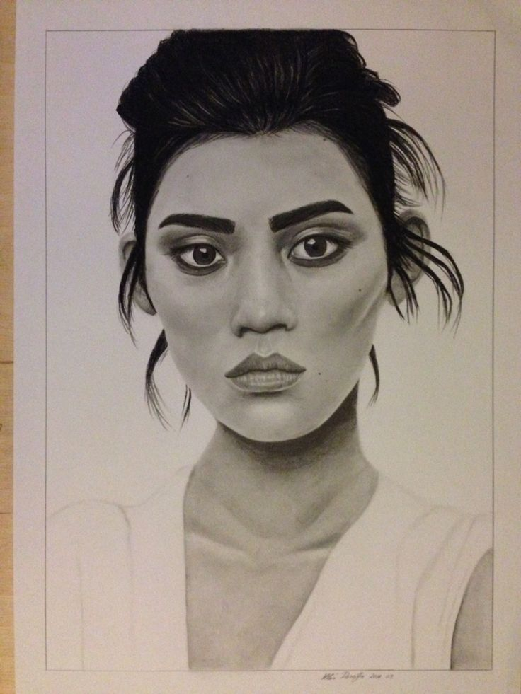 Ming Xi drawing by dorottyaart