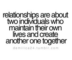 too bad we don't know this going into a relationship...and sometimes its all we have...