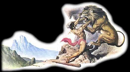 Mitología: DOCE TRABAJOS DE HÉRCULES: EL LEÓN DE NEMEA