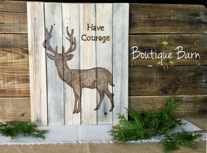 Deer/Deer Silhouette/Wood Sign/Forest Art/Tribal Nursery/Rustic Decor/Rustic Baby Nursery/Cabin Decor/Lodge Decor/Handmade/Hunting Decor by BoutiqueBarn on Etsy https://www.etsy.com/listing/291983063/deerdeer-silhouettewood-signforest