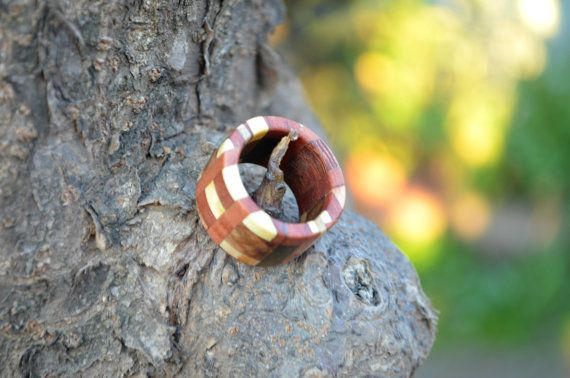 Wooden ring  by Molinart by Molinart on Etsy, $16.00