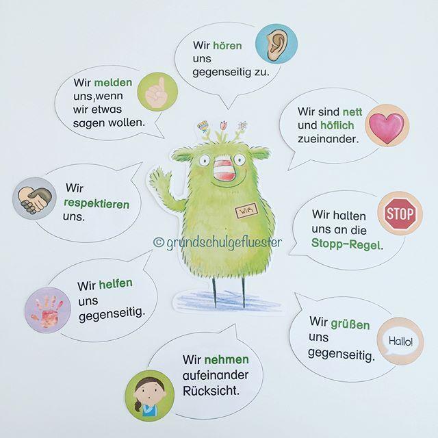 """Werbung, da Markennennung // """"Das kleine WIR in der Schule"""" von Daniela Kunkel kam bei meinen Schülern sehr gut an! 😍💚 In dem Bilderbuch…"""