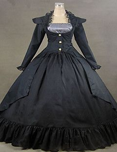 Steampunk®19th Century Victorian Gothic Lolita Dress Gown Renaissance Faire Clothing
