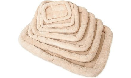 Dog Crate Padded Fleece Pet Bed Pad