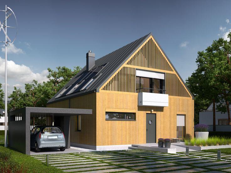 Zwarta bryła, bardzo dobra izolacja wszystkich przegród oraz szereg energooszczędnych instalacji sprawiają, że budynek wyróżniają znakomite parametry cieplne.