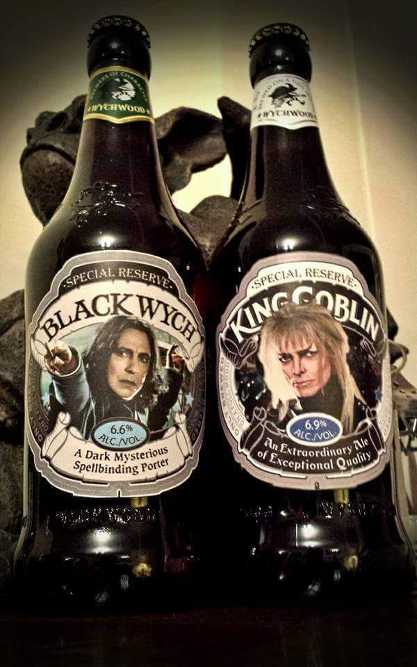 Classy play Wychwood Brewery...I only wish I could actually have these beers with them...