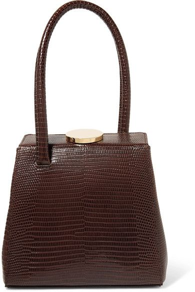 mademoiselle lizard effect leather tote c r a v i n g s in 2019  mademoiselle lizard effect leather tote