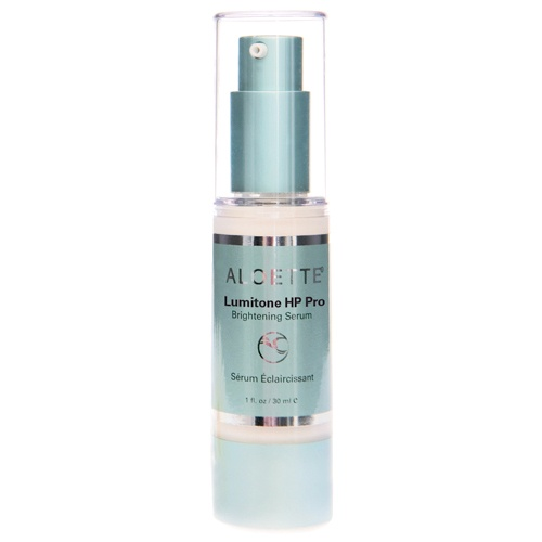 Lumitone HP Pro Brightening Serum ~ Illuminate dull, ashy skin and target uneven skin tone with visible results in just 14 days! Containing a proprietary blend of six clinically tested peptides and botanicals—including the powerful white daisy extract—in an aloe vera base, Lumitone HP (High Potency) Pro Brightening Serum works to minimize the appearance of red and splotchy skin and help neutralize uneven tone.