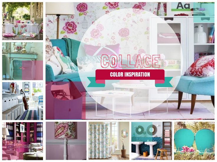 33 best color collage pantone 2014 images on pinterest for Color collage ideas