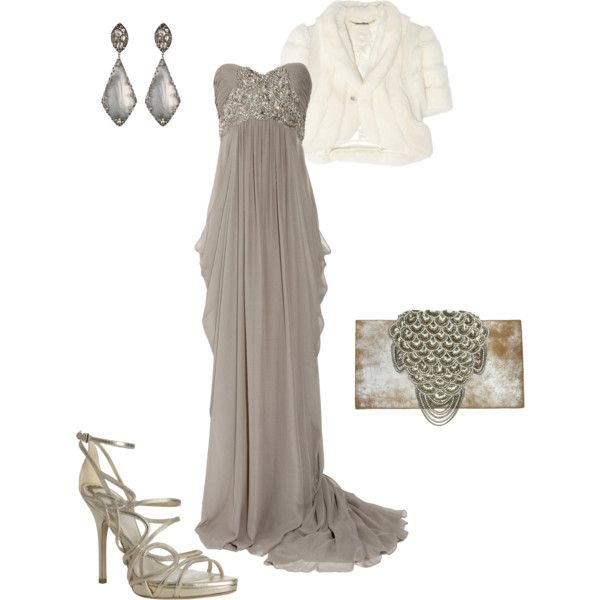 Elegant Marchesa Grey - Outfit of the Week