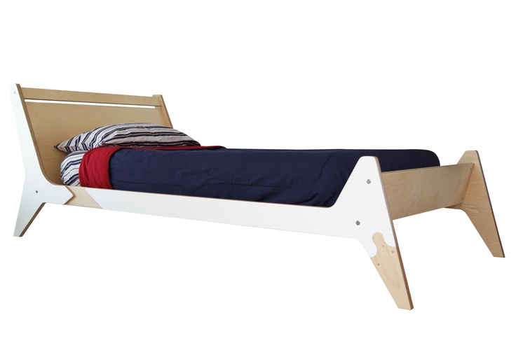 twin size bed.