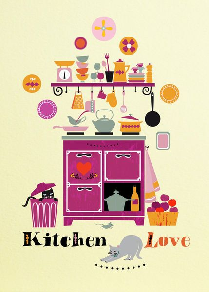 """Kitchen Love"" by Elisandra Sevenstar"